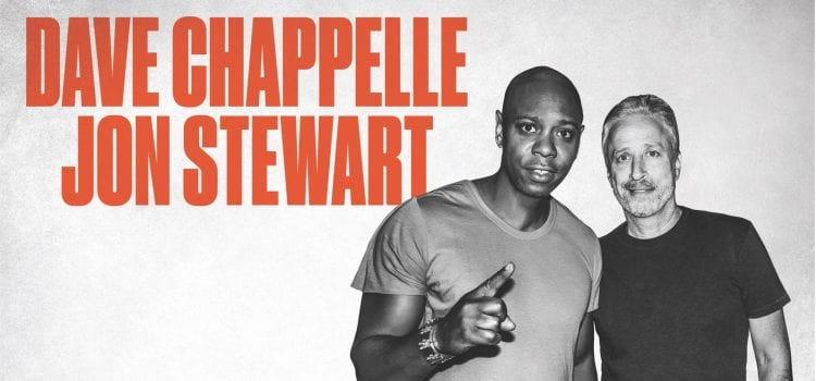 Dave Chappelle, Jon Stewart To Co-Headline Comedy Tour This June