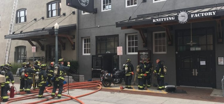 Concert Location Changed After Fire At Idaho's Knitting Factory Venue