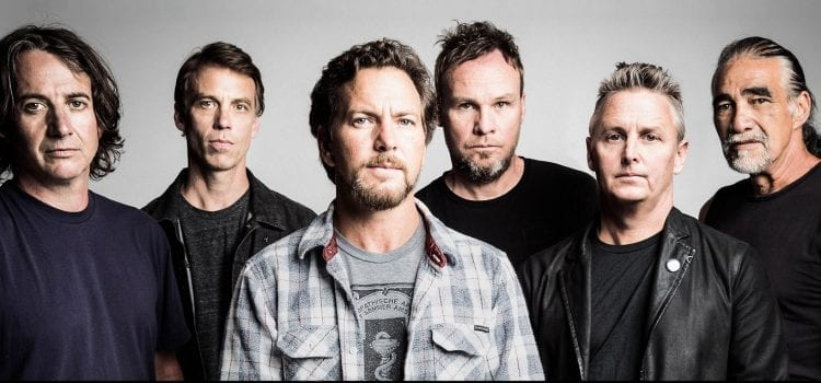 Pearl Jam Takes No. 1 Spot On Thursday's Best-Selling Events List