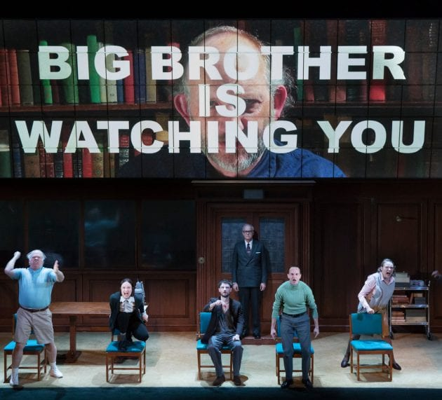 George Orwell's 1984 Set for Timely Broadway Debut