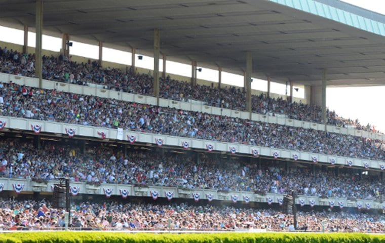 Packed stands in 2014, not coincidentally a Triple Crown year.