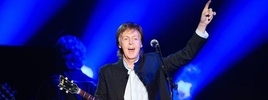 Paul McCartney's 'Freshen Up Tour' Tops Monday Best-Sellers