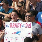 Pats Predict Success, Send Early Tickets to AFC Championship