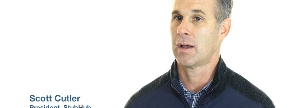 Scott Cutler Departs StubHub for eBay in Executive Shuffle