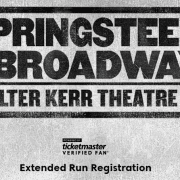 Springsteen on Broadway Extended by Ten Weeks