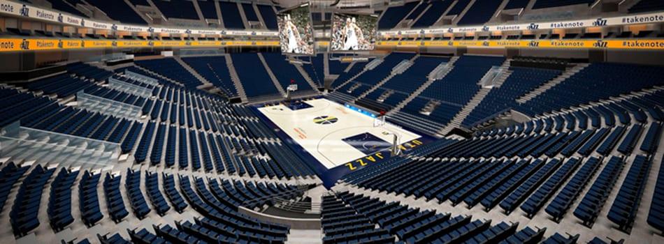 Utah Jazz, Vivint Smart Home Arena Sign With Ticketmaster