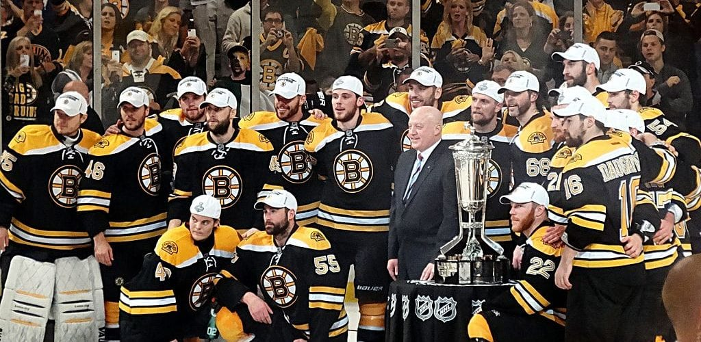 Ahead of NHL Playoffs, Boston Bruins Tickets Lead Mid-Week Onsales
