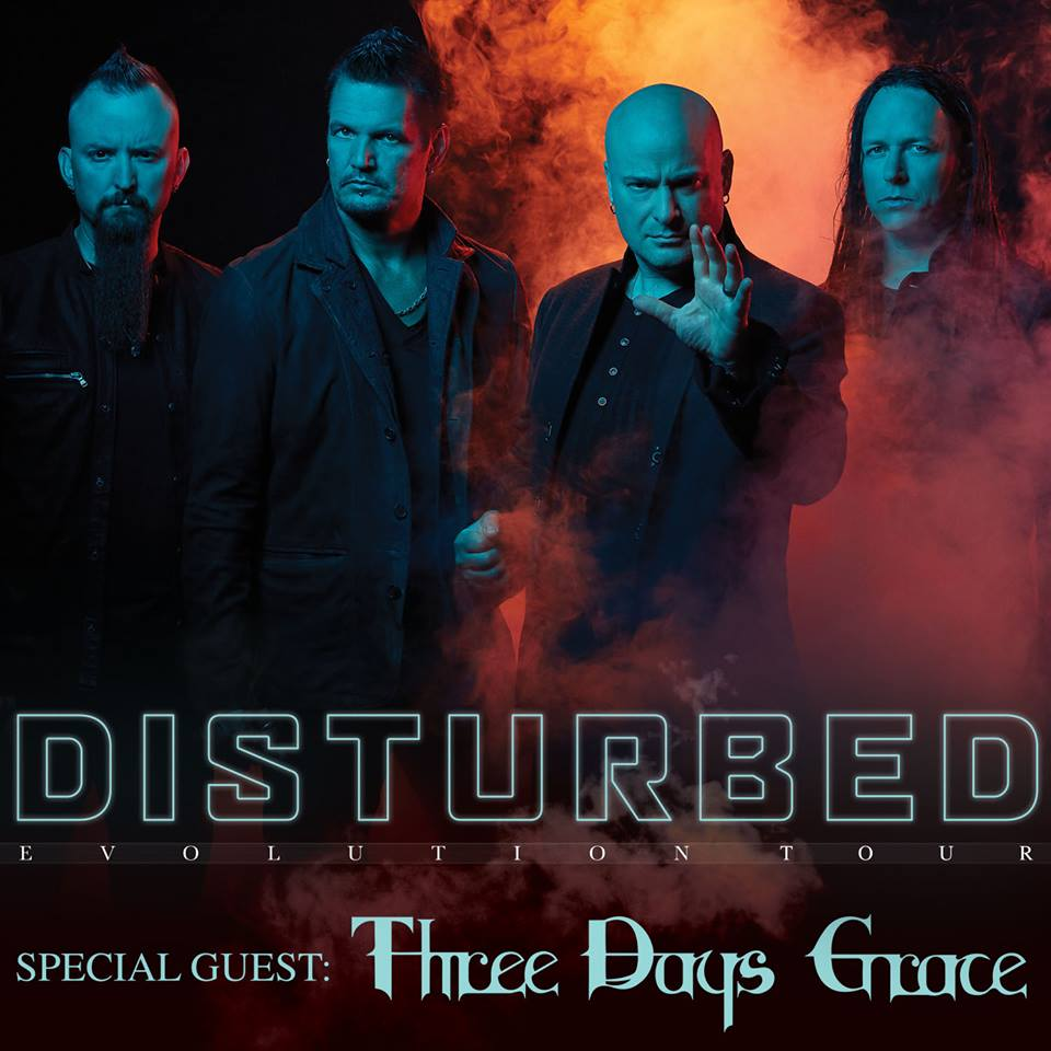 Disturbed Releases Official Dates Of 2019 Evolution