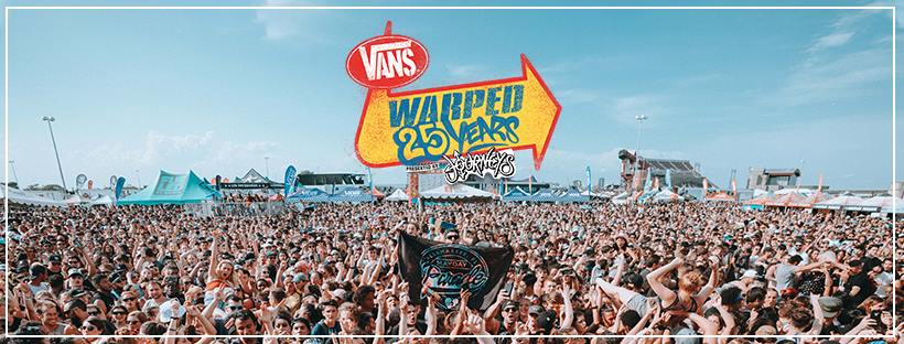 Vans Warped Tour Reveals Lineup For 25th Anniversary Shows