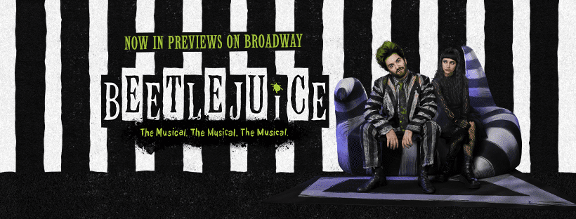 Musical 'Beetlejuice' To Open On Broadway Later This Month