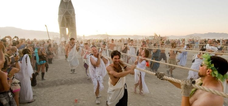 Burning Man Shines at No. 1 Spot on Monday Best Sellers