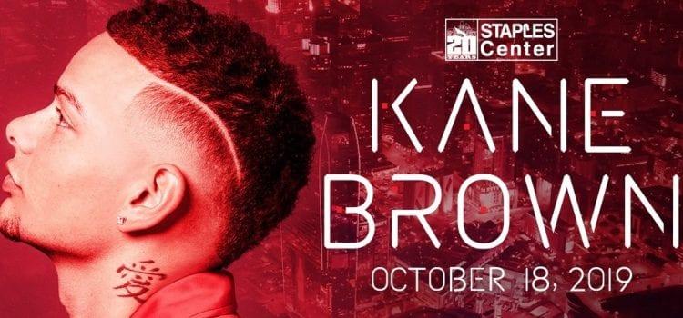 Kane Brown Postpones Staples Center Gig After Drummer's Death