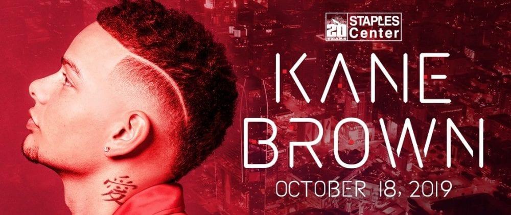 Kane Brown To Headline Staples Center 20th Anniversary Concert