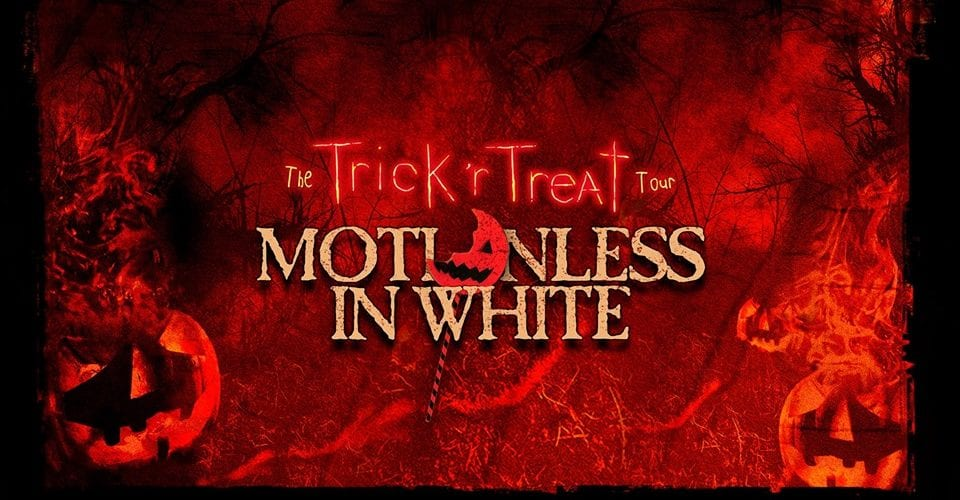 Motionless In White Reveal Trick 'R Treat Headlining Tour