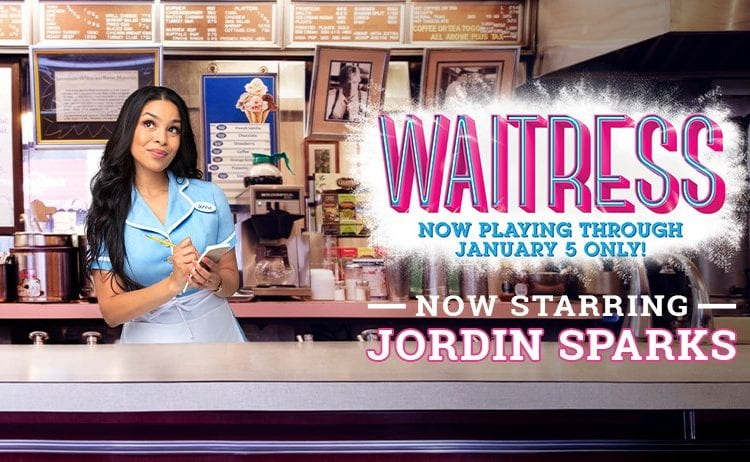 Jordin Sparks Returns To Broadway For Role In 'Waitress'