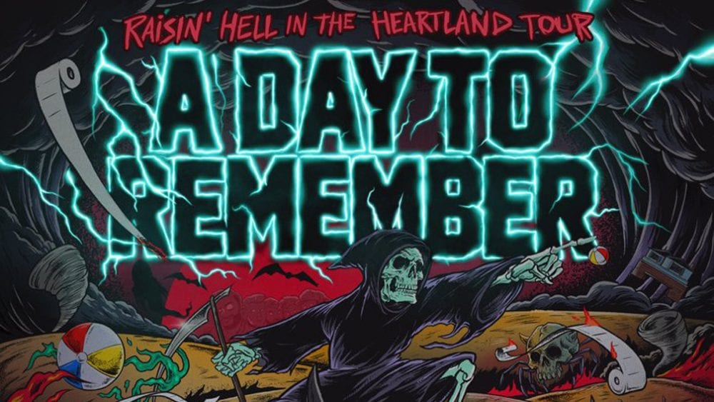 a day to remember announces 39 raisin 39 hell in the heartland tour 39. Black Bedroom Furniture Sets. Home Design Ideas