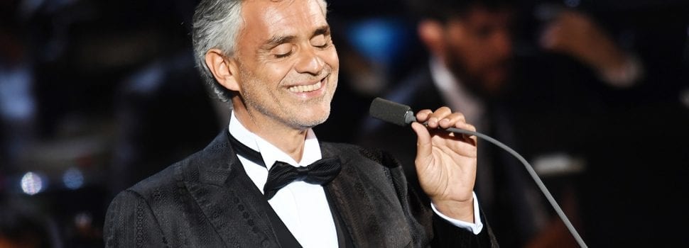 Andrea Bocelli Dominates Monday Best-Selling Events