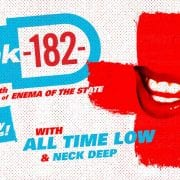 blink-182 Cancel Rescheduled Show With All Time Low, Neck Deep