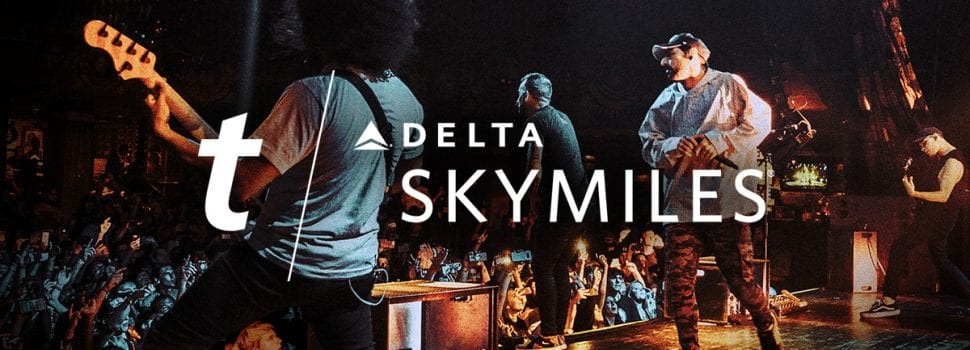 Delta, Ticketmaster Team Up To Offer SkyMiles For Concert Tickets