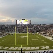 UCF Students Line Up Overnight for Peach Bowl Tickets