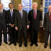 Former U.S. Presidents Unite in Texas for Hurricane Relief Concert