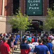 Texas Fans Gripe After Mobile-Entry Delays at Opening Day