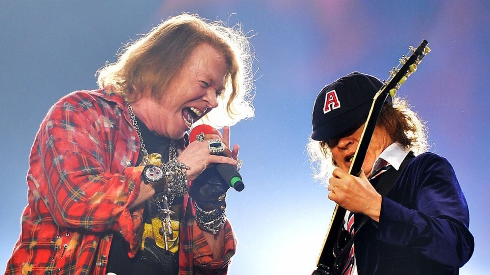 Guns N' Roses Play Brief Show Due To Axl Rose's Illness