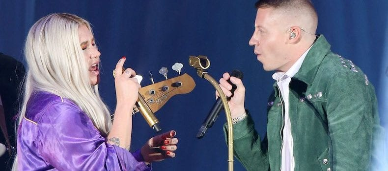 Kesha and Macklemore Announce Joint Tour in Summer 2018
