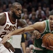 Boston Celtics, Cleveland Cavaliers Score Top Spots On Sunday Best-Sellers