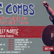 Luke Combs Reveals 'What You See Is What You Get' Tour