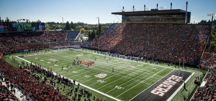 Oregon State Offers Complimentary Seats to Season Ticket Holders