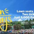 Live Nation, Hilton Honors Reveal New 'Lawn Days' Program
