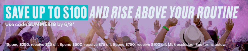 StubHub Offers Up To $100 Off Concert Tickets 'Spend and