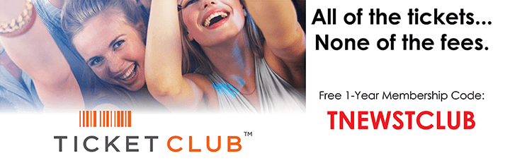 free ticket club trial membership for TicketNews Readers