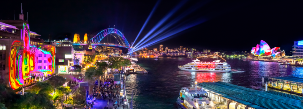 Eventbrite Partners With Vivid Sydney Festival As Official Ticketing Partner
