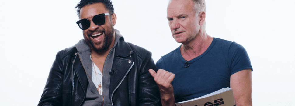 Sting, Shaggy Bring Co-Headlining '44/876′ Tour To North America