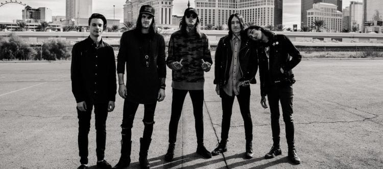 Bad Omens Drop Tour With Amity Affliction, Senses Fail Due To Tour Poster