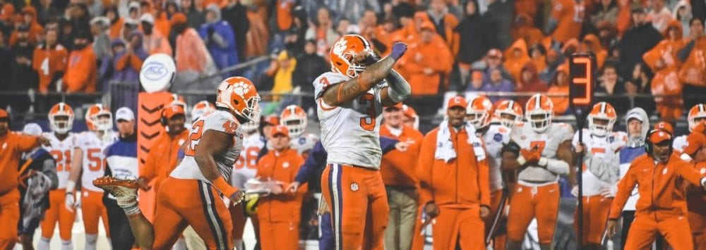 Clemson Tigers, Notre Dame Fighting Irish Top Best-Sellers