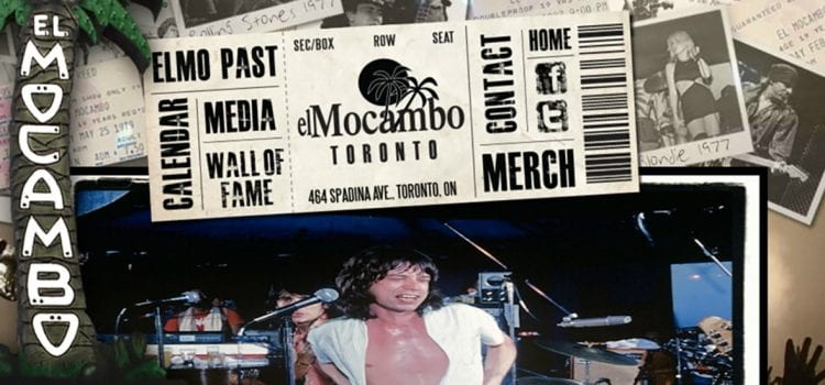 The Legendary El Mocambo Appoints Ticketmaster Canada as its Ticketing Agent