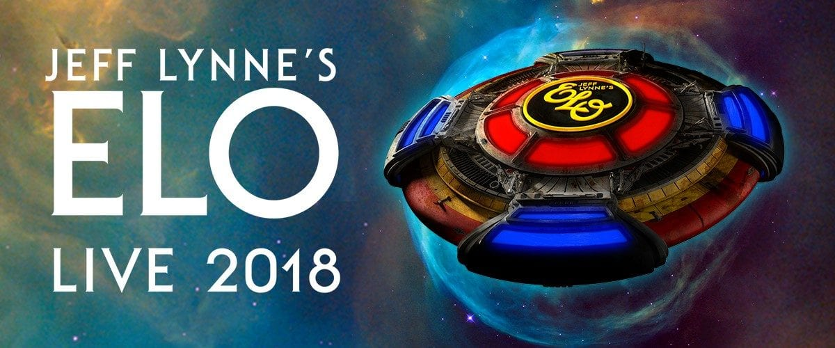 Jeff Lynne's ELO Announces 2018 U.S Tour First U.S. Tour in 30+ Years
