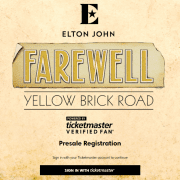 Elton John Verified Fan Sale Has Typically Frosty Reception from Fans