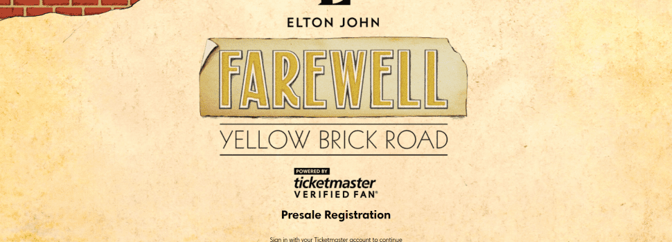Elton John Verified Fan Sale Has Typically Frosty Reception from Fans