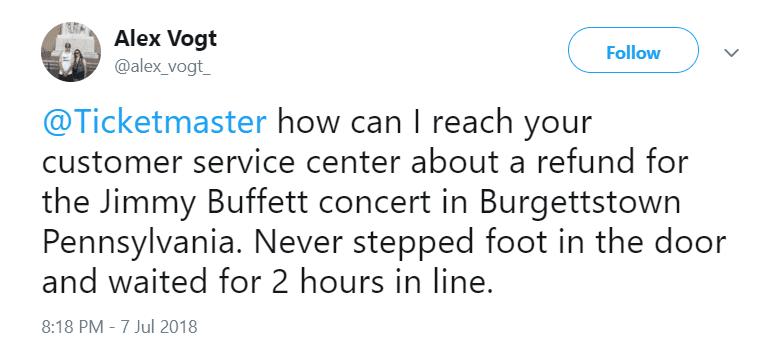 Ticketmaster Jimmy Buffett