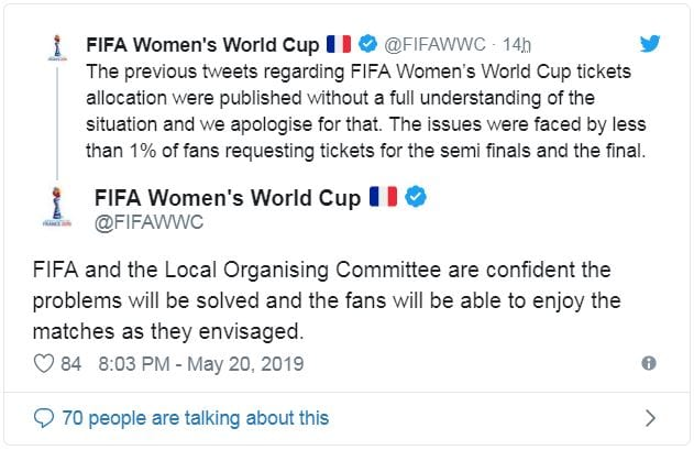 womens world cup tickets