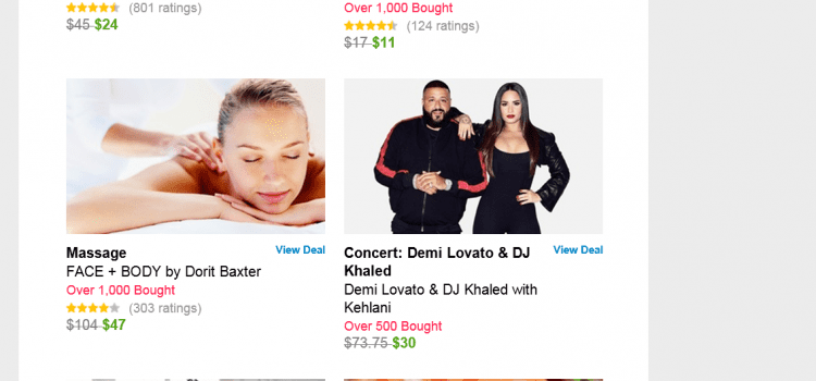 Demi Lovato and DJ Khaled Tour Gets Groupon Treatment