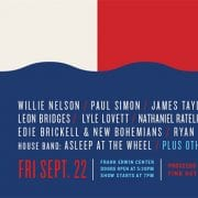 Willie Nelson, Paul Simon Headline Star-Studded Harvey Benefit Concert