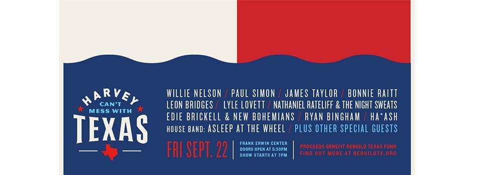 Willie Nelson, Paul Simon Headline Star-Studded Harvey Benefit Concert