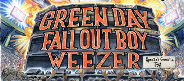 Green Day, Weezer, Fall Out Boy Join Forces For Punk-Rock Tour of The Century