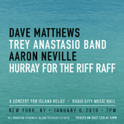 """Concert for Island Relief"" to Raise Money in NYC January 6"