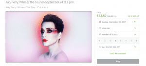 katy perry tickets on groupon